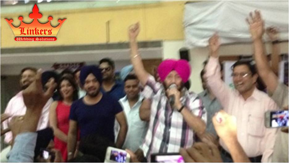 Promotional event of JATTS IN GOLMALL Organized by LINKERS