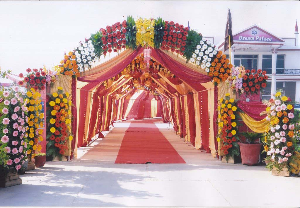 Linkers wedding solutions wedding wedding planner for Decoration gate